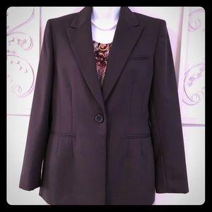Anne Klein Brown Suit Blazer